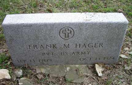 HAGER (VETERAN), FRANK M. - Lawrence County, Arkansas | FRANK M. HAGER (VETERAN) - Arkansas Gravestone Photos