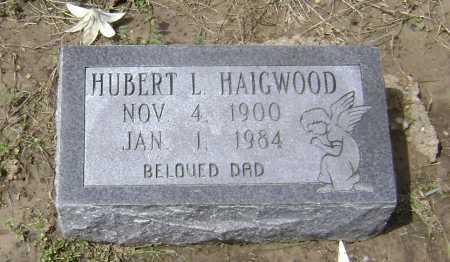 HAIGWOOD, HUBERT L. - Lawrence County, Arkansas | HUBERT L. HAIGWOOD - Arkansas Gravestone Photos