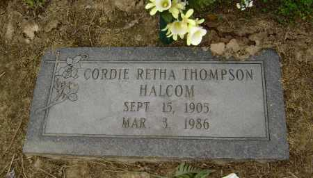 HALCOM, CORDIE RETHA - Lawrence County, Arkansas | CORDIE RETHA HALCOM - Arkansas Gravestone Photos