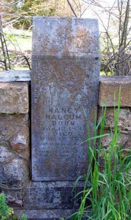 HALCUM, NANCY - Lawrence County, Arkansas | NANCY HALCUM - Arkansas Gravestone Photos