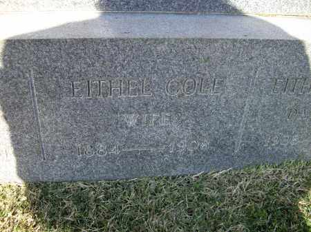 COLE HALEY, EITHEL G. - Lawrence County, Arkansas | EITHEL G. COLE HALEY - Arkansas Gravestone Photos