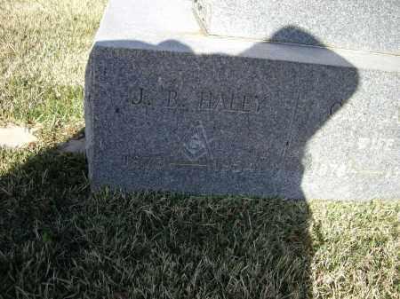 "HALEY, JAMES BARNEY ""J. B."" - Lawrence County, Arkansas | JAMES BARNEY ""J. B."" HALEY - Arkansas Gravestone Photos"
