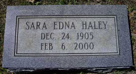 QUALLS HALEY, SARA EDNA - Lawrence County, Arkansas | SARA EDNA QUALLS HALEY - Arkansas Gravestone Photos