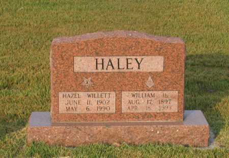 WILLETT HALEY, HAZEL OLIVIA - Lawrence County, Arkansas | HAZEL OLIVIA WILLETT HALEY - Arkansas Gravestone Photos