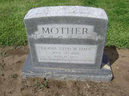 HALL, DONIA - Lawrence County, Arkansas | DONIA HALL - Arkansas Gravestone Photos
