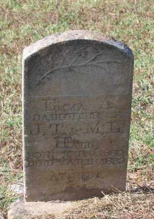 HALL, EMMA A. - Lawrence County, Arkansas | EMMA A. HALL - Arkansas Gravestone Photos
