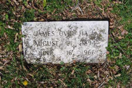 HALL, JAMES OVID - Lawrence County, Arkansas | JAMES OVID HALL - Arkansas Gravestone Photos