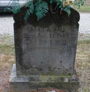HALL, SARAH A. SKAGGS - Lawrence County, Arkansas | SARAH A. SKAGGS HALL - Arkansas Gravestone Photos