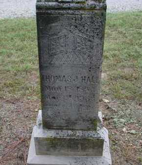 HALL, SR., THOMAS J. - Lawrence County, Arkansas   THOMAS J. HALL, SR. - Arkansas Gravestone Photos