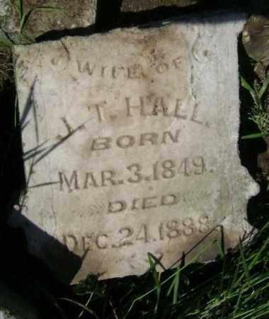 HALL, C. C. - Lawrence County, Arkansas | C. C. HALL - Arkansas Gravestone Photos