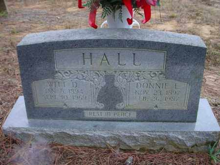 HALL, WITT DIVINY - Lawrence County, Arkansas | WITT DIVINY HALL - Arkansas Gravestone Photos