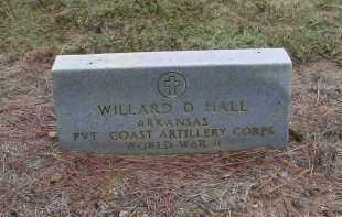HALL (VETERAN WWII), WILLARD D. - Lawrence County, Arkansas | WILLARD D. HALL (VETERAN WWII) - Arkansas Gravestone Photos