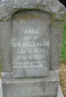 HALLMARK, ANNA - Lawrence County, Arkansas | ANNA HALLMARK - Arkansas Gravestone Photos