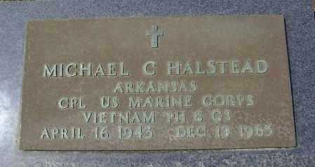 HALSTEAD  (VETERAN VIET, KIA), MICHAEL CLAY - Lawrence County, Arkansas | MICHAEL CLAY HALSTEAD  (VETERAN VIET, KIA) - Arkansas Gravestone Photos
