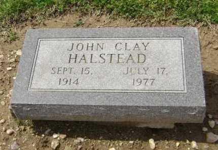 HALSTEAD, JOHN CLAY - Lawrence County, Arkansas | JOHN CLAY HALSTEAD - Arkansas Gravestone Photos