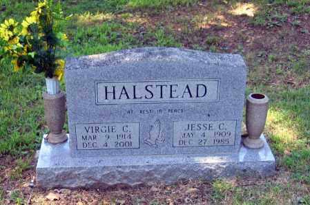 HOLDER HALSTEAD, VIRGIE C. - Lawrence County, Arkansas | VIRGIE C. HOLDER HALSTEAD - Arkansas Gravestone Photos