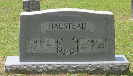 EAST HALSTEAD, ABBIE V. - Lawrence County, Arkansas | ABBIE V. EAST HALSTEAD - Arkansas Gravestone Photos
