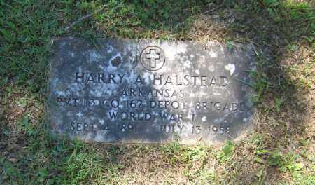 "HALSTEAD (VETERAN WWI), HARVEY A. ""HARRY"" - Lawrence County, Arkansas | HARVEY A. ""HARRY"" HALSTEAD (VETERAN WWI) - Arkansas Gravestone Photos"