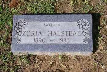 "HALSTEAD, KESORIA ""ZORIA"" - Lawrence County, Arkansas   KESORIA ""ZORIA"" HALSTEAD - Arkansas Gravestone Photos"