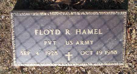HAMEL (VETERAN), FLOYD RUSSELL - Lawrence County, Arkansas | FLOYD RUSSELL HAMEL (VETERAN) - Arkansas Gravestone Photos