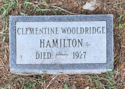 HAMILTON, CLEMENTINE - Lawrence County, Arkansas   CLEMENTINE HAMILTON - Arkansas Gravestone Photos