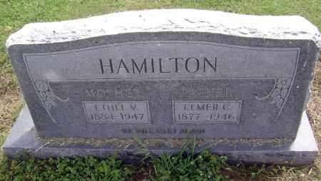 HAMILTON, ETHEL V. - Lawrence County, Arkansas | ETHEL V. HAMILTON - Arkansas Gravestone Photos