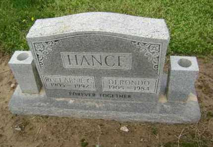 HANCE, REV, EARNIE C. - Lawrence County, Arkansas   EARNIE C. HANCE, REV - Arkansas Gravestone Photos