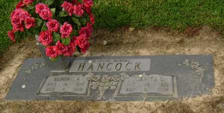 HANCOCK  (VETERAN WWII), BUFORD R. - Lawrence County, Arkansas | BUFORD R. HANCOCK  (VETERAN WWII) - Arkansas Gravestone Photos