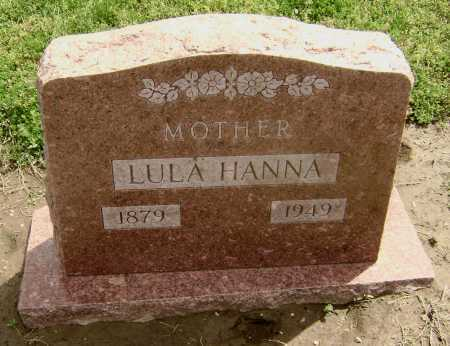 HANNA, LULA - Lawrence County, Arkansas   LULA HANNA - Arkansas Gravestone Photos