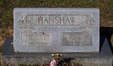 KING HANSHAW, LULA MARCELLA - Lawrence County, Arkansas | LULA MARCELLA KING HANSHAW - Arkansas Gravestone Photos