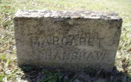 HANSHAW, MARGARET L. - Lawrence County, Arkansas | MARGARET L. HANSHAW - Arkansas Gravestone Photos