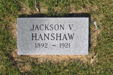 HANSHAW, JACKSON VIRGIL - Lawrence County, Arkansas | JACKSON VIRGIL HANSHAW - Arkansas Gravestone Photos