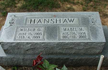 MCLAUGHLIN HANSHAW, MABEL LUCILLE - Lawrence County, Arkansas | MABEL LUCILLE MCLAUGHLIN HANSHAW - Arkansas Gravestone Photos