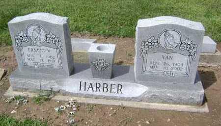HARBER, VAN - Lawrence County, Arkansas | VAN HARBER - Arkansas Gravestone Photos