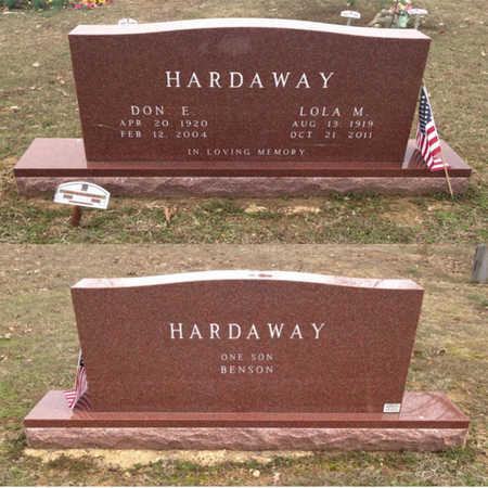 "HARDAWAY, DONALD EUGENE ""DON E."" - Lawrence County, Arkansas | DONALD EUGENE ""DON E."" HARDAWAY - Arkansas Gravestone Photos"