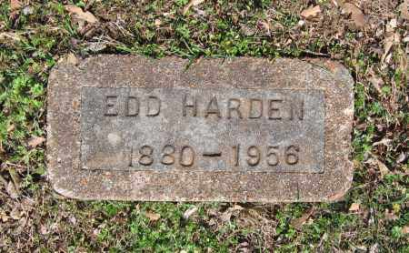 HARDEN, EDD - Lawrence County, Arkansas   EDD HARDEN - Arkansas Gravestone Photos