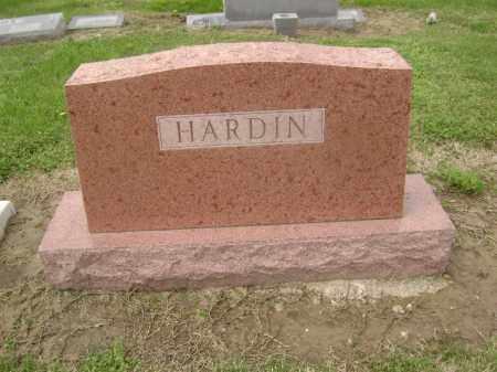 HARDIN FAMILY STONE,  - Lawrence County, Arkansas    HARDIN FAMILY STONE - Arkansas Gravestone Photos