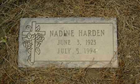 HARDEN, NADINE - Lawrence County, Arkansas | NADINE HARDEN - Arkansas Gravestone Photos