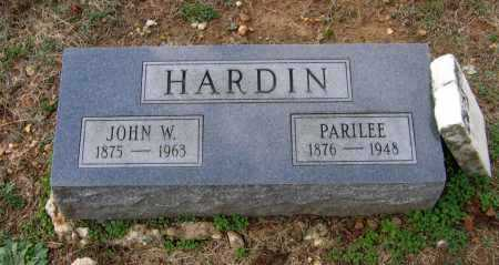 HARDIN, JOHN WASHINGTON - Lawrence County, Arkansas | JOHN WASHINGTON HARDIN - Arkansas Gravestone Photos