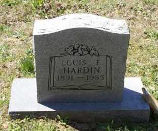 HARDIN, LOUIS ELMER - Lawrence County, Arkansas   LOUIS ELMER HARDIN - Arkansas Gravestone Photos