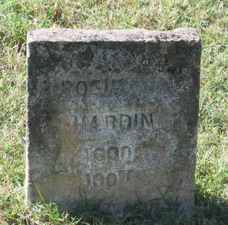 HARDIN, ROSIE - Lawrence County, Arkansas | ROSIE HARDIN - Arkansas Gravestone Photos
