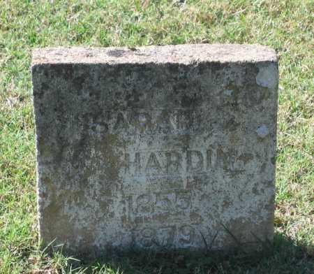 HARDIN, SARAH ANN - Lawrence County, Arkansas | SARAH ANN HARDIN - Arkansas Gravestone Photos