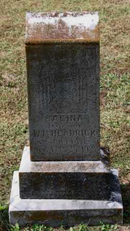 HEADRICK, SALINA HARDIN - Lawrence County, Arkansas | SALINA HARDIN HEADRICK - Arkansas Gravestone Photos