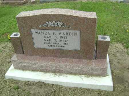 HARDIN ADES, WANDA F. - Lawrence County, Arkansas | WANDA F. HARDIN ADES - Arkansas Gravestone Photos
