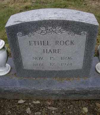 ROCK HARE, ETHEL - Lawrence County, Arkansas | ETHEL ROCK HARE - Arkansas Gravestone Photos