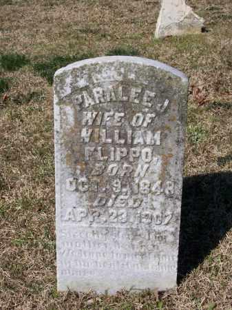 FLIPPO, PARALEE J. LAWSON LAMB HARLOW MCCOY - Lawrence County, Arkansas | PARALEE J. LAWSON LAMB HARLOW MCCOY FLIPPO - Arkansas Gravestone Photos