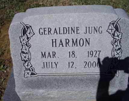 JUNG HARMON, GERALDINE - Lawrence County, Arkansas | GERALDINE JUNG HARMON - Arkansas Gravestone Photos