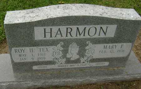 "HARMON, ROY H. ""TEX"" - Lawrence County, Arkansas | ROY H. ""TEX"" HARMON - Arkansas Gravestone Photos"