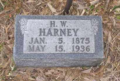 HARNEY, H. W. - Lawrence County, Arkansas | H. W. HARNEY - Arkansas Gravestone Photos
