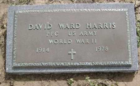 HARRIS  (VETERAN WWII), DAVID WARD - Lawrence County, Arkansas   DAVID WARD HARRIS  (VETERAN WWII) - Arkansas Gravestone Photos